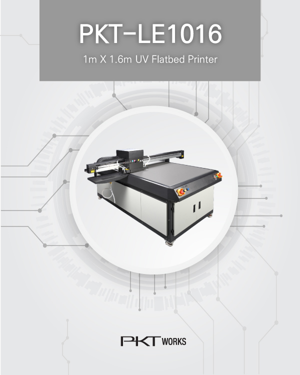 PKT-LE1016 UV Flatbed Printer