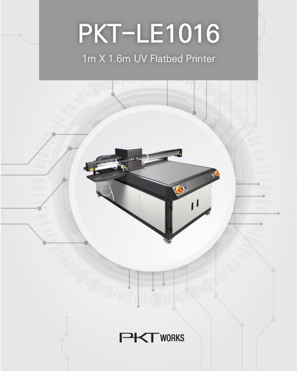 PKT-LE1016 UV Flatbed Printer