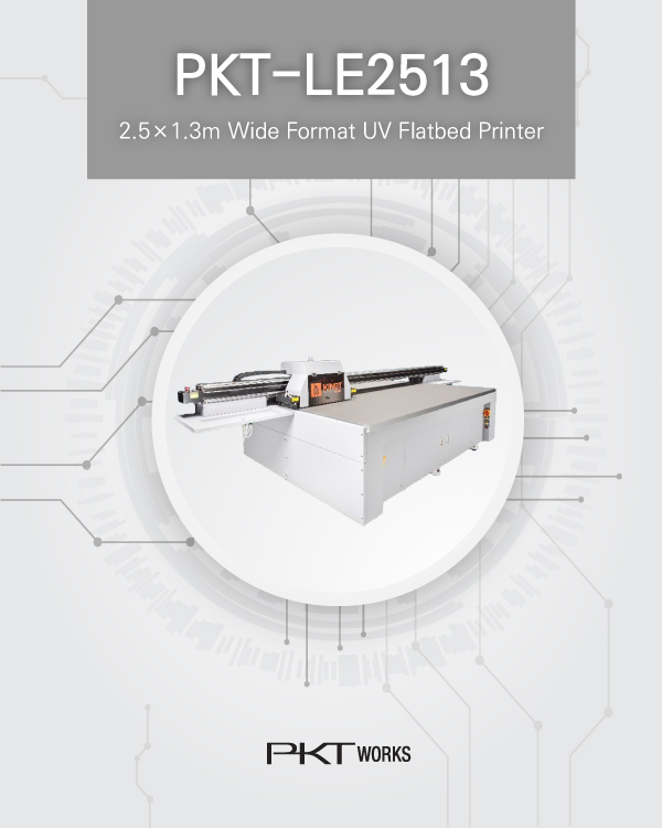 PKT-LE2513 UV Flatbed Printer