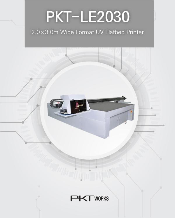 PKT-LE2030 UV Flatbed Printer